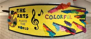 The Arts Make the World Colorful!