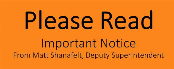 Please Read Important Notice